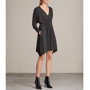 ALLSAINTS Leopard Dress
